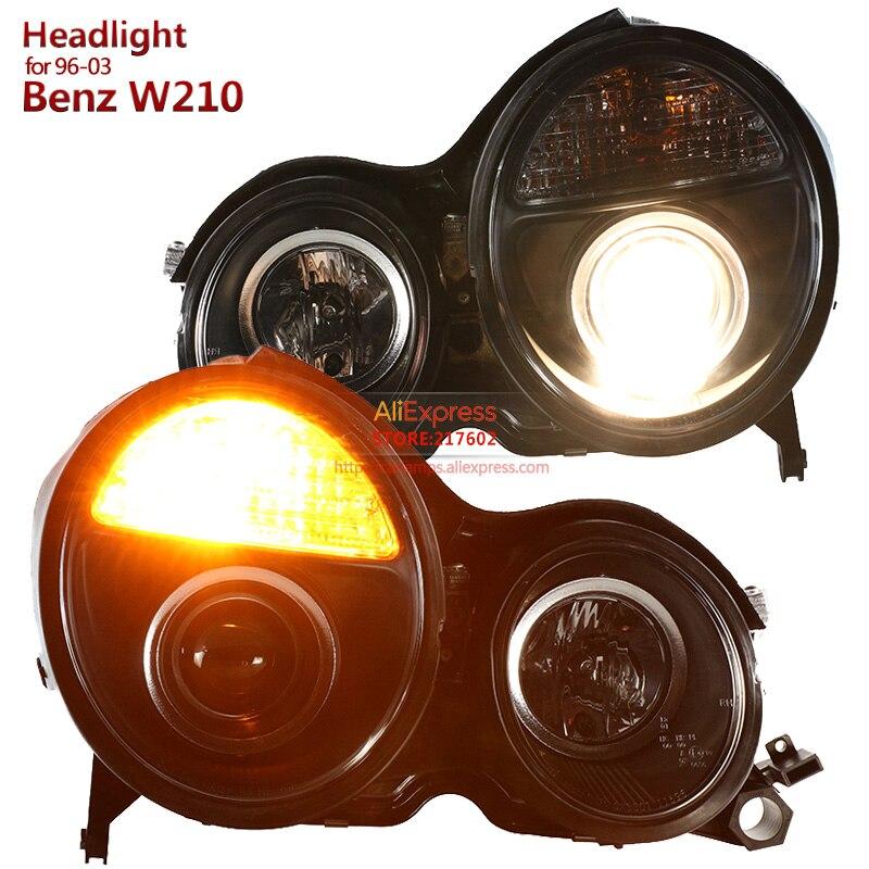 Marque SONAR pour mercedes-benz e-class W210 E200 E230 E240 projecteur LED phares 1996-2003 année haute qualité Tunning voiture lumière