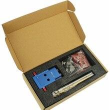 DIY деревообрабатывающее устройство с наклонным отверстием, деревообрабатывающий набор карманных отверстий, 9,5 мм, ступенчатое сверло, ручной локатор, набор направляющих для сверления дерева