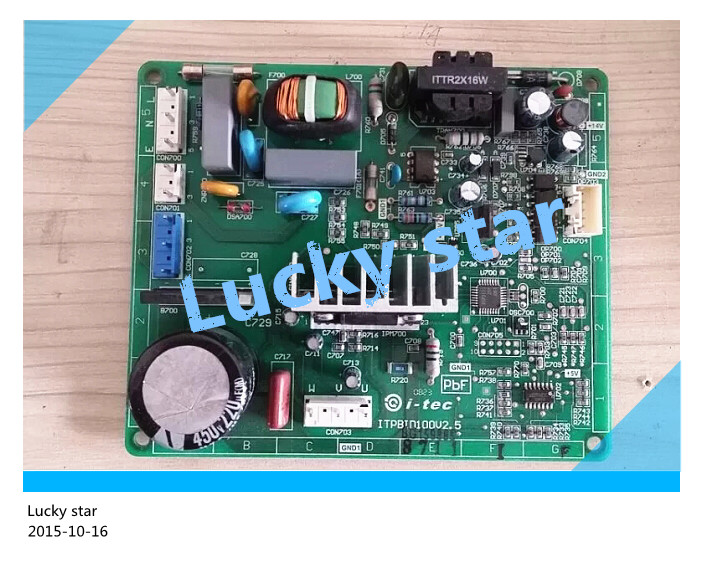 95% new for Panasonic refrigerator computer board circuit board ITPBID100V2.6 driver board good working 100% new good working for refrigerator computer board power module rs21ssh rs552nru da92 00646b da92 00278b board