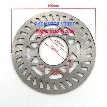 Rotor de disco de freno trasero de 190mm para 50cc 110cc 125cc 140cc 150cc 160cc BES rueda Pit Dirt Bike motocicleta tipo Quad Moto