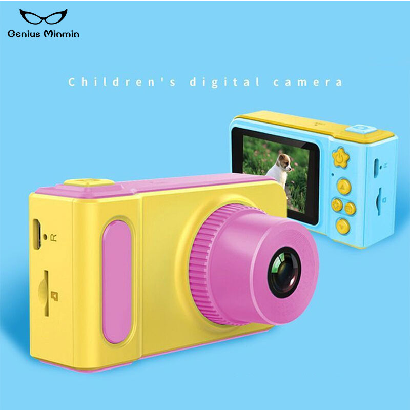 30w Mini Digital Camera Cartoon Cute Camera Toy Can Take Pictures Children Birthday Gift Hd Toy Camera