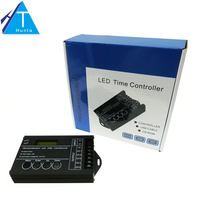 LED Time Controller DC12 24V 20A 5 Channel Time Programmable Controller