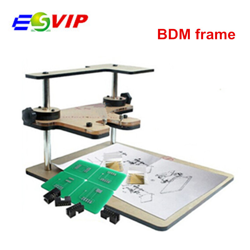 BDM Frame With Aapters Works BDM Programmer CMD 100 Full Sets Fits For FGTECH bdm100 kess use for ktag k tag ECU programmer tool