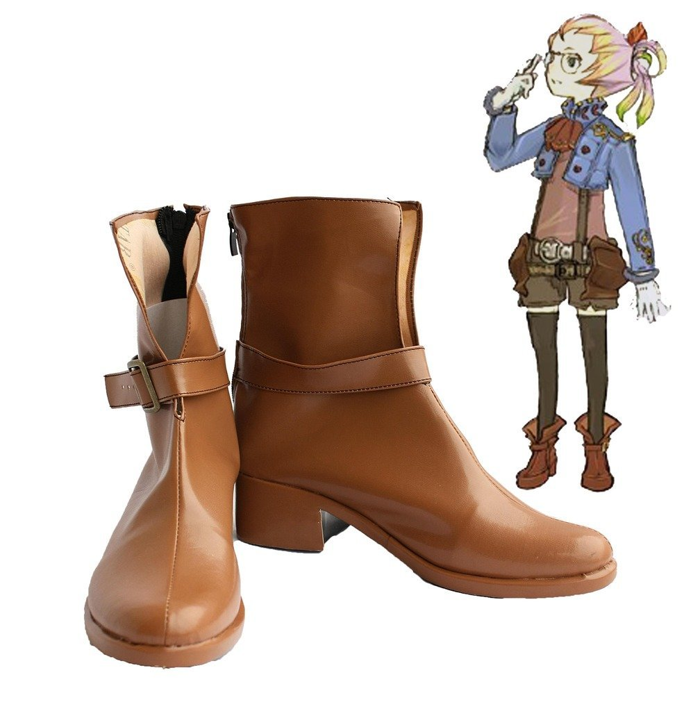 Final Fantasy Crystal Chronicles Althea Cosplay Shoes Boots Custom Made