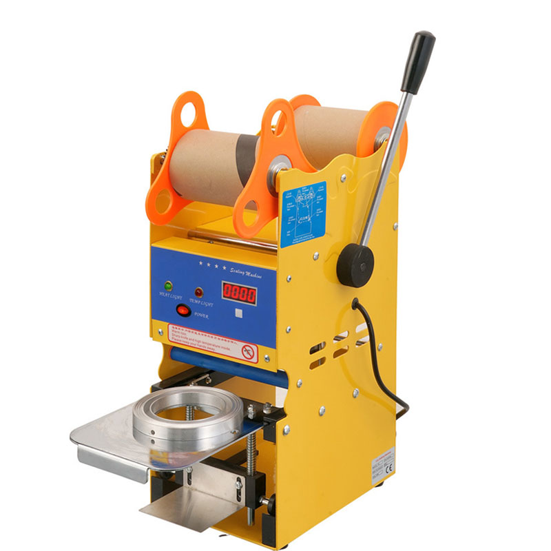 Stainless steel single round pan fried ice cream machine fried ice cream roll machine with high quality compressor