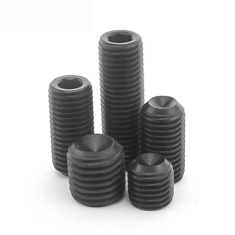 Vendas diretas 12.9 hex soquete set final parafuso/base metro/metro máquina/fio superior/parafuso sem cabeça m3 M4
