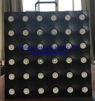 Rasha New Matrix GAR 36pcs*3W LED Matrix Beam Blinder Warmwhite Single Color DMX512 LED Matrix Light For Event Background