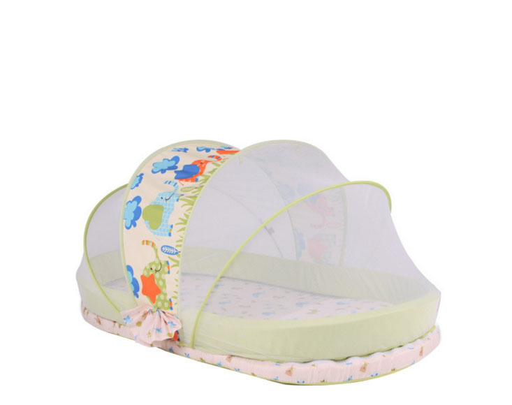 New Baby Crib 0-2 Years Baby Bed set Portable Foldable cot playpens child station on the go cradle Mosquito Netting