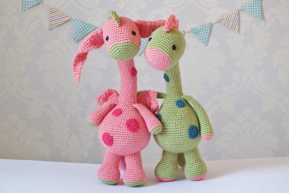 Crochet Dragon and Amigurumi Childrens Gift Toy Stuffed Animal doll rattle