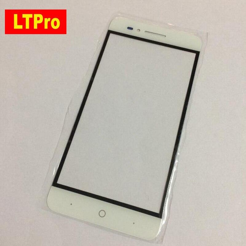 LTPro למעלה באיכות טובה עבודה זכוכית קדמי פנל חיצוני מסך מגע עבור ZTE מסע 4 להב A610 TD-LTE נייד טלפון החלפה