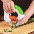 Кухонный гаджет из нержавеющей стали  Круглый измельчитель для овощей