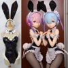 Customize Anime Re Life A Different World From Zero Ram Rem Rabbit Girl Sexy Swimsuit