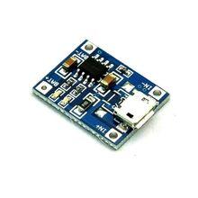 5PCS NEW MICRO USB 1A Battery Charging Module TP4056 Precise TOP