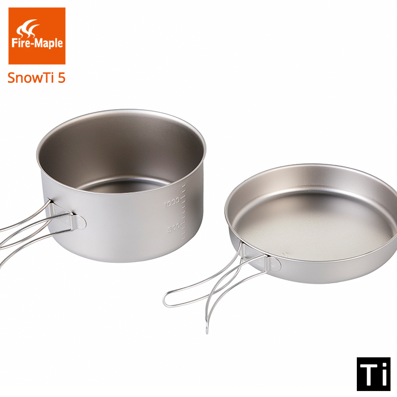 Fire Maple SnowTi 5 Portable Snow Titanium 1.35L Outdoor Camping Pot and 0.55L Frying Pan Ultra-Light 195g Camping Pots Set fx1n fx2n fx3u 40mt 24di 16do 2ad 2da analog for plc rs485 modbus 4 axis high speed pulse 100khz output stepper motor