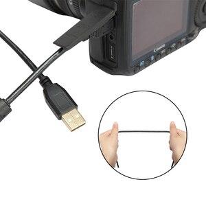 Image 3 - 5 متر/10 متر طويلة 2.0 البسيطة USB البرونزية كابل بيانات عالية السرعة الطاقة الحبل ل شاحن DSLR كاميرا سوني PS3 تحكم