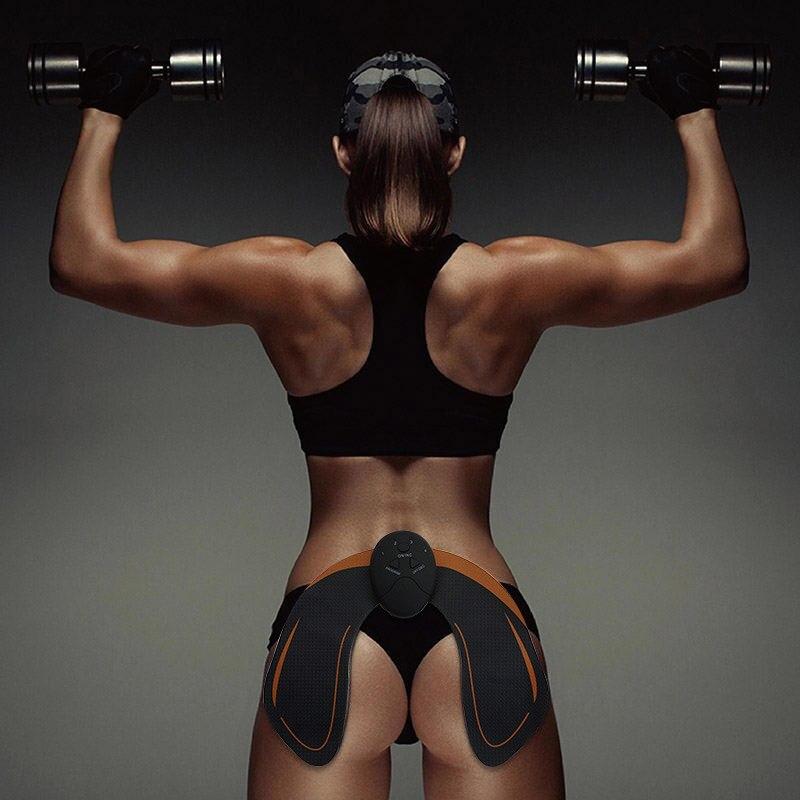 O transporte da gota EMS Estimulação do Treinador do Quadril e Bumbum Ajuda A Levantar, Forma e Firmar As Nádegas para As Mulheres De Fitness
