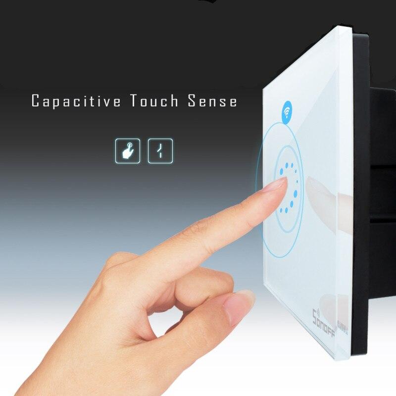 Nueva Sonoff Interruptor de tipo Táctil de Control Remoto Interruptor de La Luz