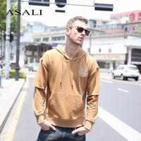 ASALI Hip Hop Hoodies Men 2017 New Autumn Fleece Hoodies Mens Kanye Warm Hooded Sweatshirt Brand