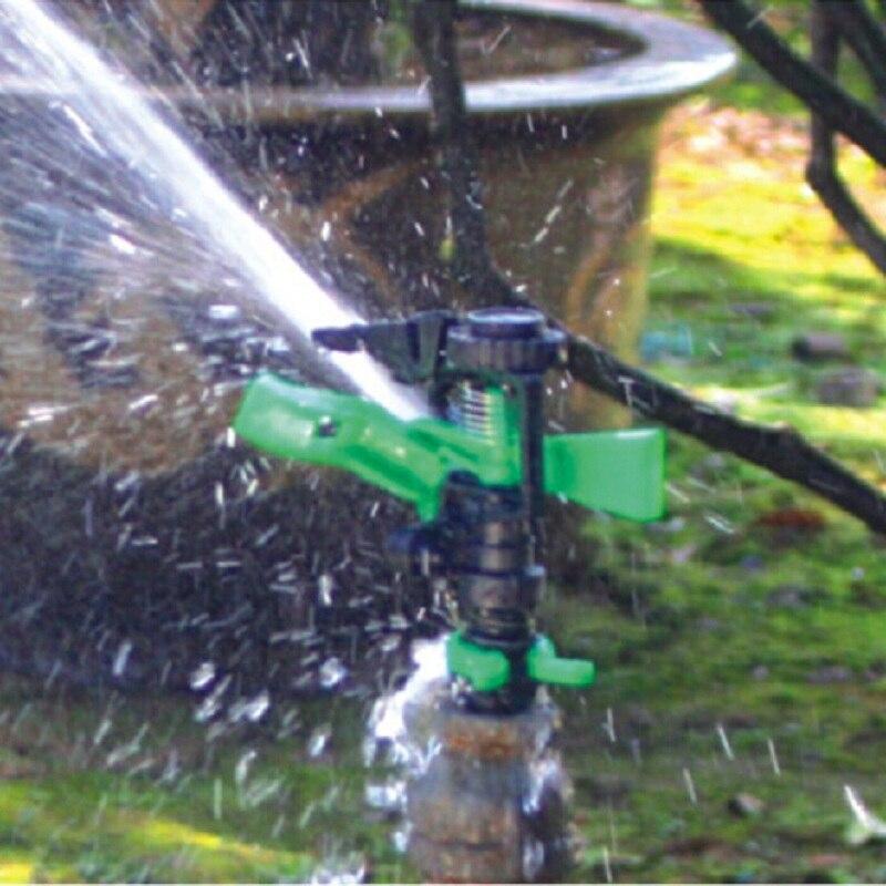 1/2 '' 360 Drgree Roterende Gieter Sprinkler Plastic Tuin Sproeikop - Tuinbenodigdheden