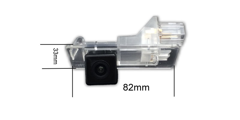 For Renault Clio 4 Fluence Captur 2013~2017 HD CCD Car Waterproof Reverse Backup Rearview Parking Rear View Camera Night Vision (2)