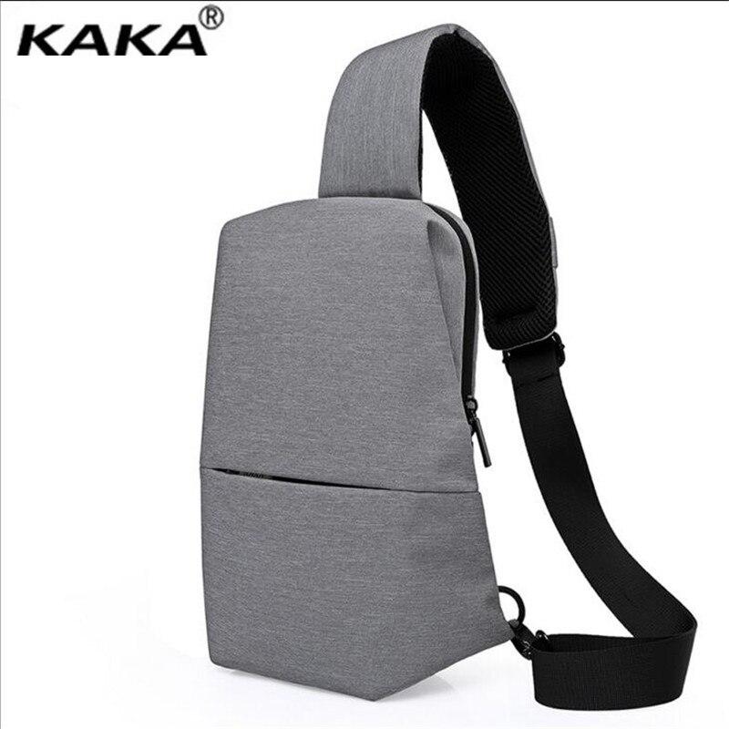 Kaka New Fashion Men S Chest Bag Multi Function Oxford