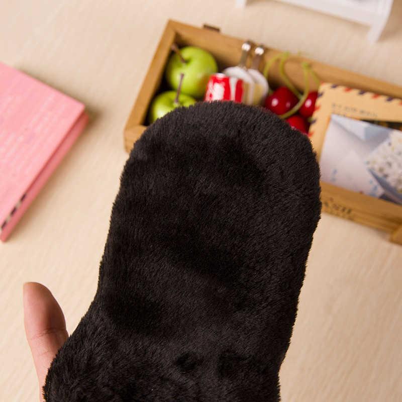 Pano de Limpeza Pano de engraxate Sapato de Pelúcia Faux Lã Polimento Luvas Em Couro De Couro Mais Limpo Cuidados Ferramentas Freeshipping