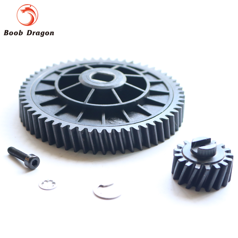 Baja 57/17 metal helical gear kit for 1/5 hpi baja 5b 5t 5sc rovan km 4 bolt 27 5cc engine walbro 668 with ngk spark plug for 1 5 hpi baja 5b 5t 5sc km rovan 81007