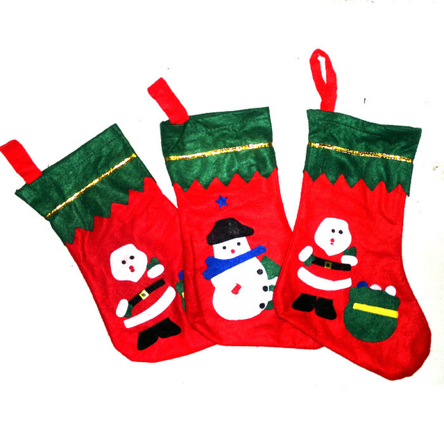 Green Mouth Socks Cute Christmas Gifts In Santa Claus Socks Christmas Supplies Christmas Decorations Props In