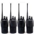 4 pcs Retevis H777 Walkie Talkie Amateur Two Way Radio UHF400-470MHz UHF Transceiver Handy Portable CB Radio Communicator A9105A