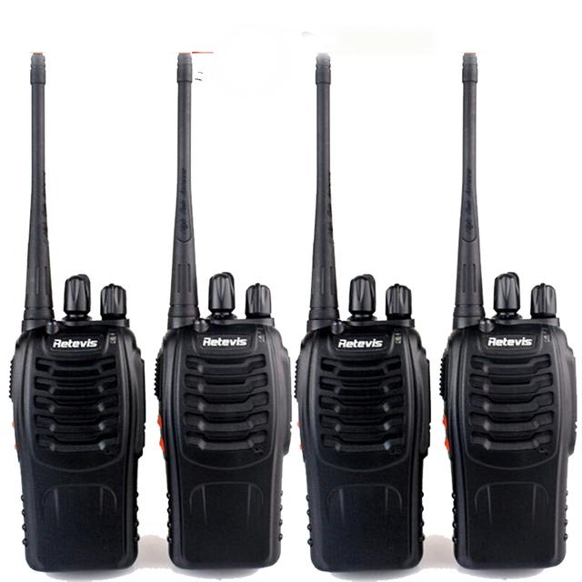 4 pcs retevis h777 walkie talkie uhf400-470mhz amador rádio em dois sentidos uhf transceiver handy portátil cb radio comunicador a9105a