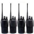 4 unids retevis h777 uhf amateur radio de dos vías walkie talkie uhf400-470mhz transceptor de mano portátil cb radio comunicador a9105a