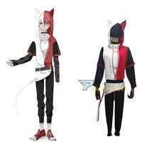 My Boku no Hero Academia My Hero Academia Shoto Todoroki Cat Cosplay Costume Halloween Carnival