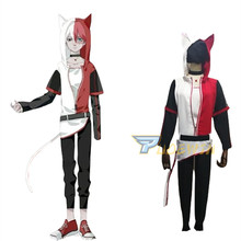 My Boku no Hero Academia Shoto Todoroki Cat Cosplay Costume Halloween Carnival