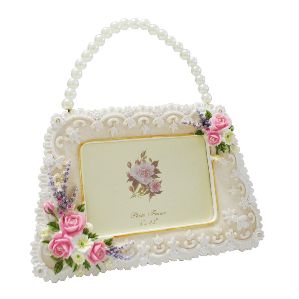 Giftgarden Cool Handbag Picture Frame For Wedding Decorations 35 X