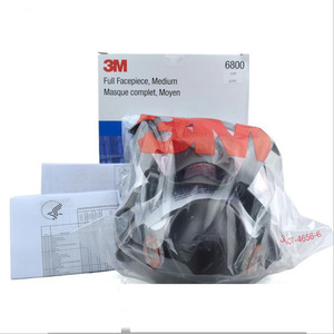 Image 3 - 17 In 1 Original 3M 6800 Safety Full Face Respirator Gas Mask Industry Protection Anti Dust Mask Medium