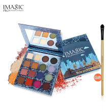 IMAGIC Professional Shimmer Matte Eyeshadow Palette 16 Colors Natural Eye Shadow Waterproof Lasting Pressed Cosmetic