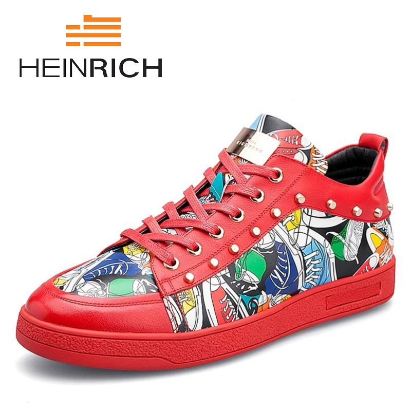 HEINRICH 2018 Selling Men High Quality Fashion Hot Sale Casual Shoes Breathable Brand Comfortable Sneakers Men Shoes ScarpeHEINRICH 2018 Selling Men High Quality Fashion Hot Sale Casual Shoes Breathable Brand Comfortable Sneakers Men Shoes Scarpe