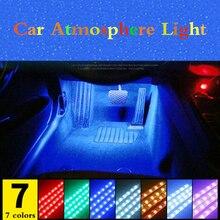 עבור פיג ו 5008 3008 מיצובישי הנכרי ASX רכב LED רצועת אור סיגריות צבעוני דקורטיבי מנורת פנים אור עם מרחוק