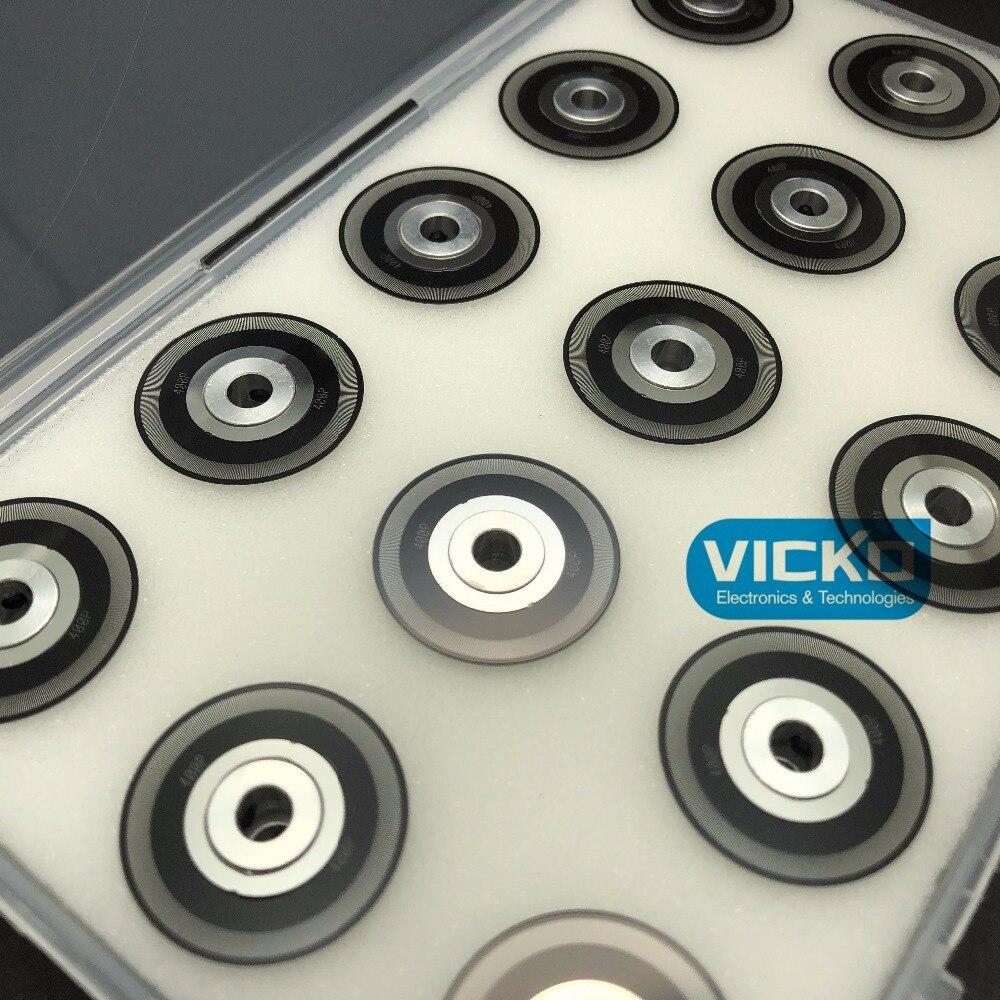 Stainless steel code plate disc 400 pulse line 400CPR reseibu motor AB ABZ outside diameter 25.4mm Inner hole 5mm for encoder