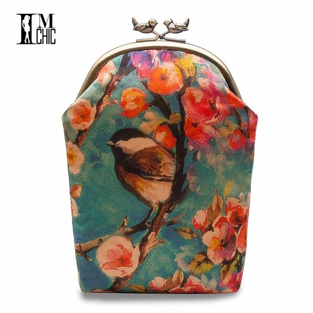 Summer Mini Handbag Over The Shoulder Vintage Floral Evening Party Dress  Bags Designer Clutch Bag Woman Wedding Ceremony Chain a4bffd867dd0b