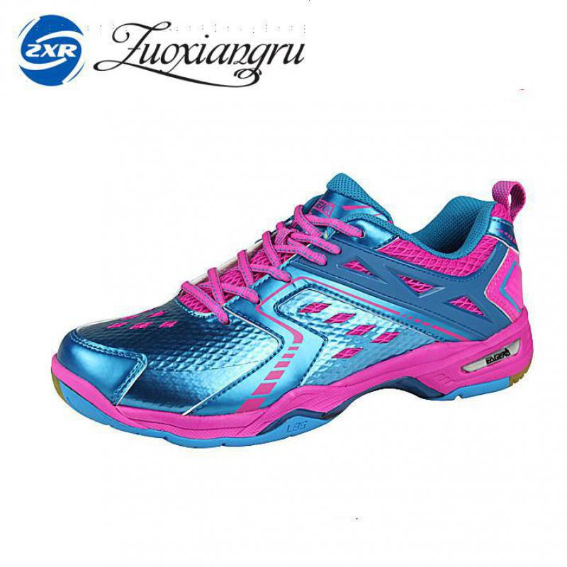 Zuoxiangru Mens Woman  Light Badminton Shoes Training Breathable Anti-slippery Light Sneakers Sport Shoes