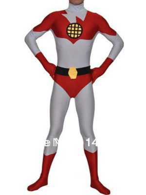 Captain Planet Spandex Superhero Costume Zentai Suit