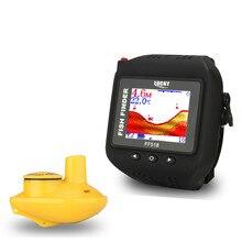 Free Shipping! LUCKY FF518 Sonar Fish Finder Wireless Fishfinder 180Feet(60M) Range Portable Echo Fishing Sounder