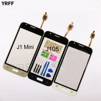 4.0''  For Samsung Galaxy Grand J1 Mini J105 SM-J105Y J105H Touch Screen Digitizer Sensor Touch Glass Lens Panel tpu pattern case for samsung galaxy j1 mini cover j105 j105h silicon phone case for samsung j1 mini j1 nxt duos phone bags shell
