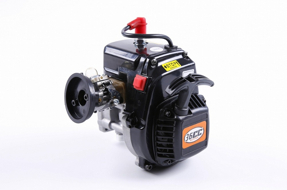 Rovan 36cc 4 Bolt Motor Gasoline Engine for 1/5 HPI Baja 5b 5T KM LOSI 5IVE-T FG RC CAR PARTS baja parts 2 change 4 bolt engine 30 5cc big bore upgrade kit for 1 5 hpi baja 5b 5t km