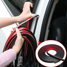 B Type Adhesive Car Door Rubber Seal Sound Insulation Strip for DACIA SANDERO STEPWAY Dokker Logan Duster Lodgy