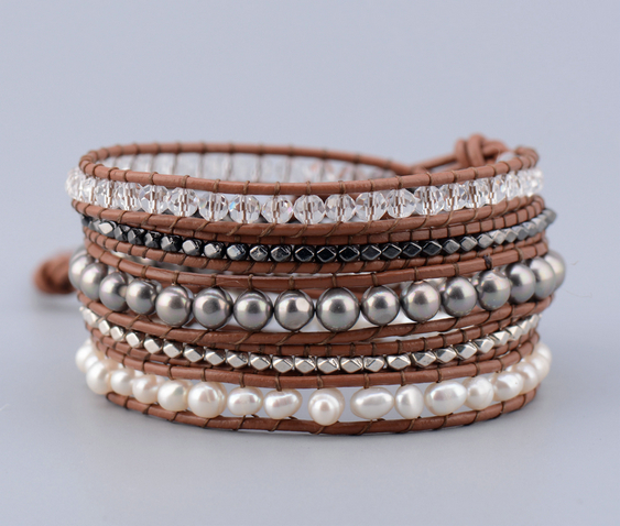 Exquisite Pearl Crystal...
