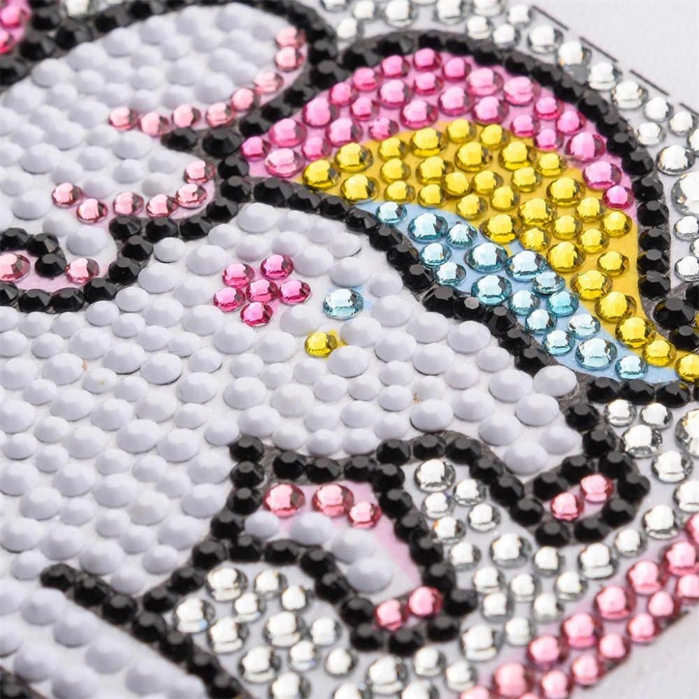 DIY كامل الماس الكرتون اللوحة خاص الماس على شكل حجر الراين التطريز اللوحة الفن الحرفية دروبشيبينغ و w