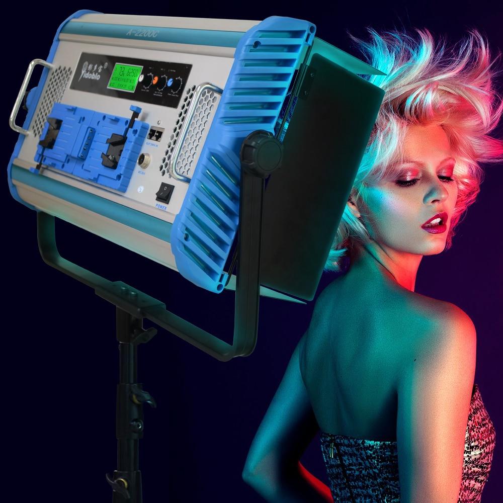 Yidoblo App control RGB A1200C LED Video Changable Panel Lamp For Photo Shooting