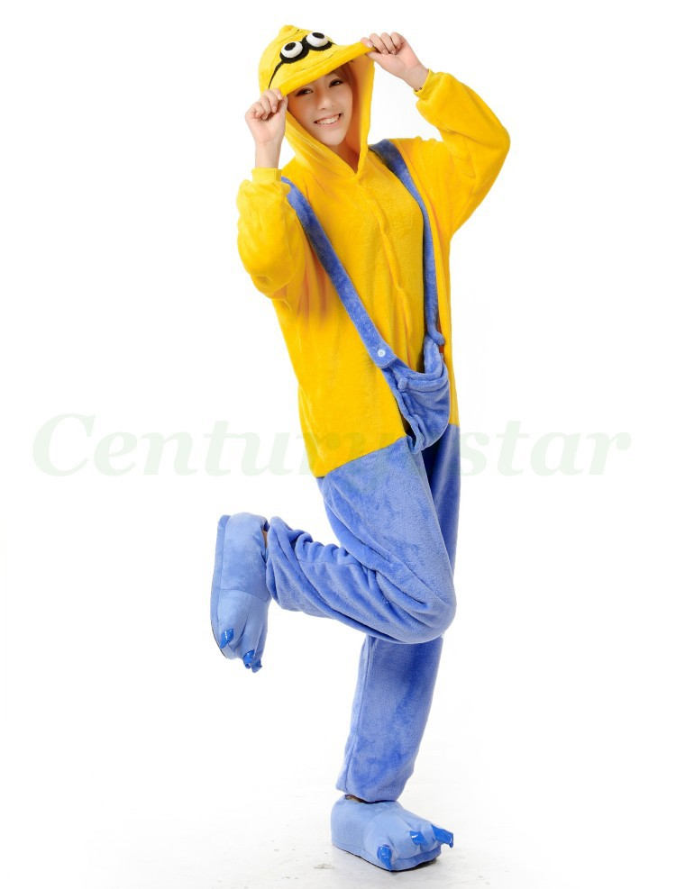 5c74f7fc76 Centuryestar Minion Pajamas Onesie Anime Cosplay Disfraz Halloween ...